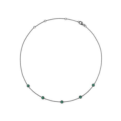 choker-charm-18k-white-gold-black-rhodium-emeralds