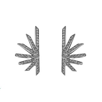 earring-star-diamond-black-rhodium-llb