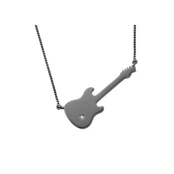 guitar-necklace-black-rhodium-with-diamond