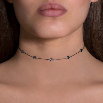 choker-charm-18k-white-gold-black-rhodium-sapphires-model