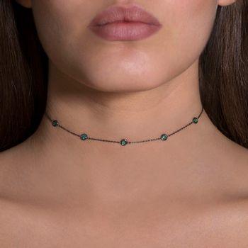 choker-charm-18k-white-gold-black-rhodium-emeralds-model