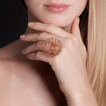 round-ring-silver-plated-with-rose-gold-model