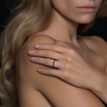 solitaire-ring-model