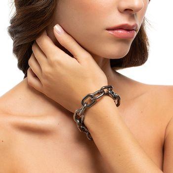 pulseira-elo-pequeno-prata-negro-modelo