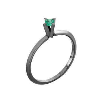 anel-solitario-spike-ouro-branco-rodio-negro-esmeralda