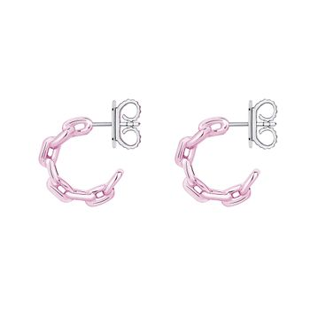 mini-pink-chain-hoops-silver-with-pink-lacquer-still